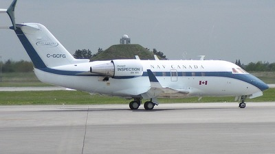 C-GCFG - Bombardier CL-600-2A12 Challenger 601 - Nav Canada