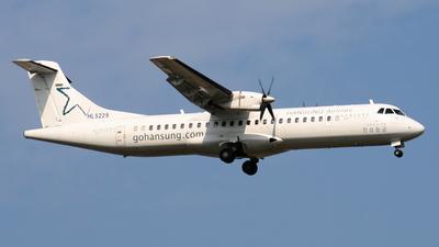 HL5229 - ATR 72-202 - Hansung Airlines