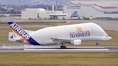F-GSTD - Airbus A300B4-608ST Super Transporter - Airbus Transport International