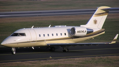 N604LA - Bombardier CL-600-2B16 Challenger 601-3A - Private