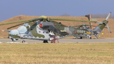 0981 - Mil Mi-24V Hind E - Czech Republic - Air Force