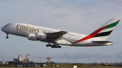 A6-EDD - Airbus A380-861 - Emirates