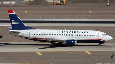 N302AW - Boeing 737-3G7 - US Airways (America West Airlines)
