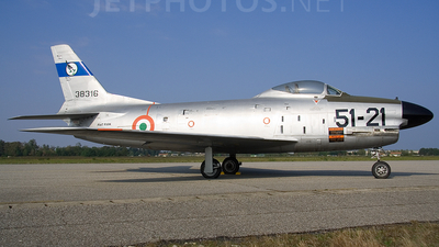 MM53-8316 - North American F-86K Sabre - Italy - Air Force