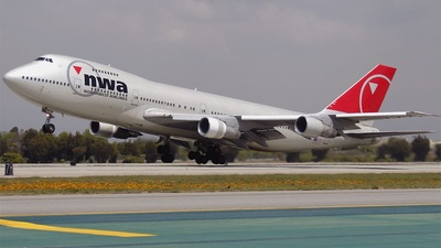 N638US - Boeing 747-251B - Northwest Airlines