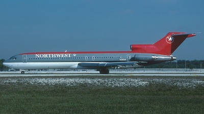 N295US - Boeing 727-251(Adv) - Northwest Airlines