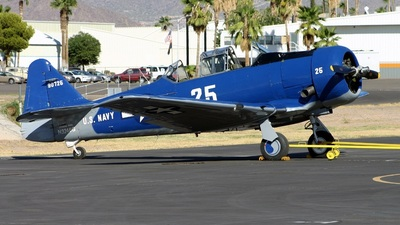 N3246G - North American SNJ-5 Texan - Private