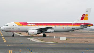 EC-JFG - Airbus A320-214 - Iberia