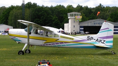 SP-AKZ - Cessna 185A Skywagon - Aero Club - Rybnik