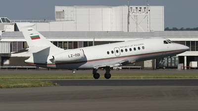 LZ-OOI - Dassault Falcon 2000 - Bulgaria - Government