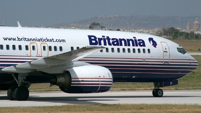 SE-DZI - Boeing 737-804 - Britannia Airways AB
