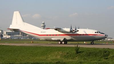 ER-AXY - Antonov An-12BK - Aeronord
