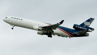 N279WA - McDonnell Douglas MD-11(F) - World Airways Cargo
