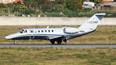 N403ND - Cessna 525B CitationJet 3 - Private