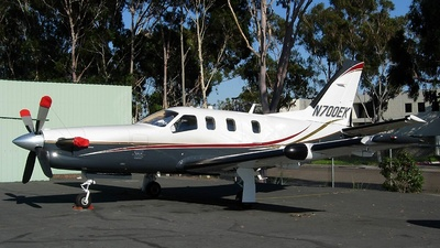 N700EK - Socata TBM-700C2 - Private
