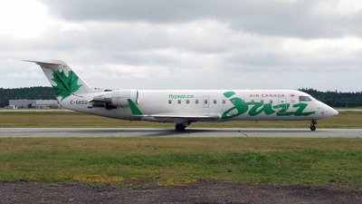 C-GKEU - Bombardier CRJ-200LR - Air Canada Jazz