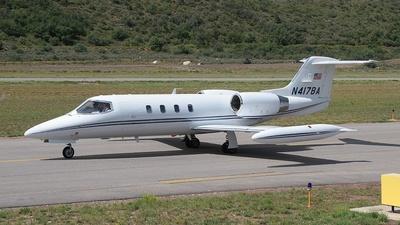 N417BA - Bombardier Learjet 35A - Private
