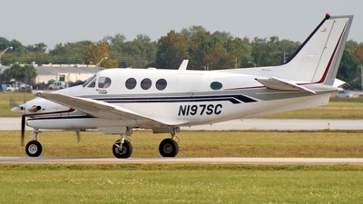 A picture of N197SC - Beech C90A King Air - [LJ1490] - © Ricardo Coppola