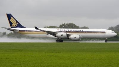 9V-SGA - Airbus A340-541 - Singapore Airlines