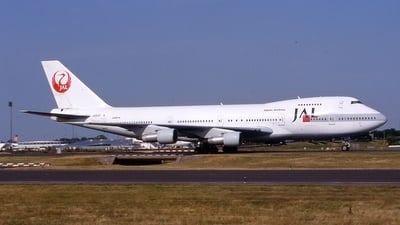 JA8161 - Boeing 747-246B - Japan Airlines (JAL)