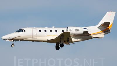 HB-VWE - Cessna 560XL Citation XLS Plus - Swiss Private Aviation