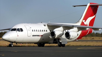 VH-NJJ - British Aerospace BAe 146-200 - QantasLink (National Jet Systems)