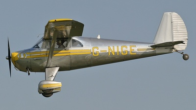 G-NIGE - Luscombe 8F Silvaire Deluxe - Private
