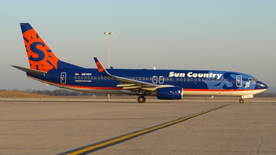 N811SY - Boeing 737-8BK - Sun Country Airlines