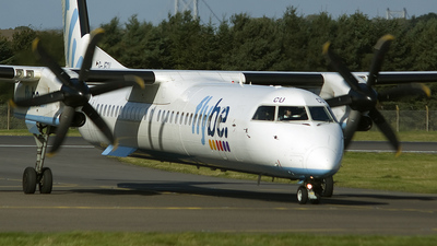 G-JECU - Bombardier Dash 8-Q402 - Flybe
