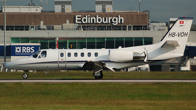 HB-VOH - Cessna 550B Citation Bravo - Sky Work