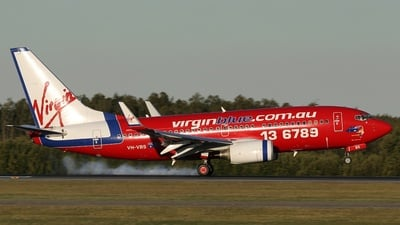 VH-VBS - Boeing 737-7BX - Virgin Blue Airlines