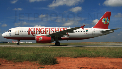 VT-KFB - Airbus A320-232 - Kingfisher Airlines
