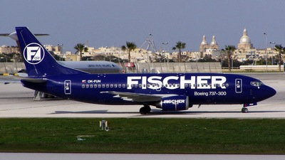 OK-FUN - Boeing 737-33A - Fischer Air