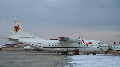 LZ-VEF - Antonov An-12BP - Vega Air