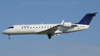 OY-RJE - Bombardier CRJ-100LR - Cimber Air