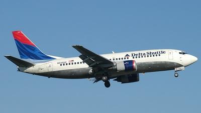 N232DZ - Boeing 737-3L9 - Delta Shuttle