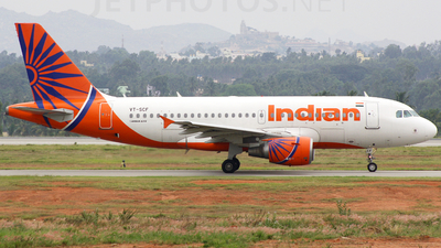 VT-SCF - Airbus A319-112 - Indian Airlines