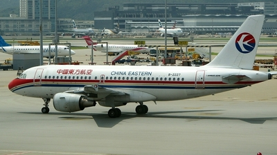 B-2227 - Airbus A319-112 - China Eastern Airlines