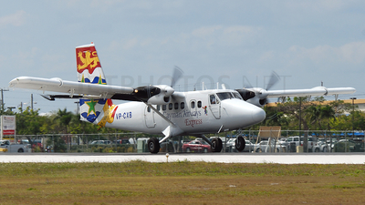 VP-CXB - De Havilland Canada DHC-6-300 Twin Otter - Cayman Airways Express