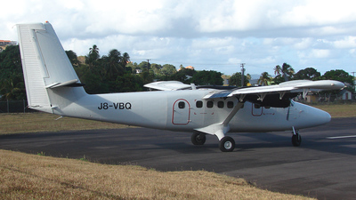 J8-VBQ - De Havilland Canada DHC-6-300 Twin Otter - Grenadine Airways
