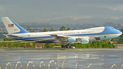 82-8000 - Boeing VC-25A - United States - US Air Force (USAF)