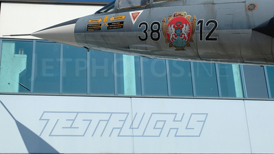38-12 - Lockheed F-104 Starfighter - Private