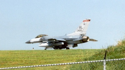 88-0400 - General Dynamics F-16C Fighting Falcon - United States - US Air Force (USAF)