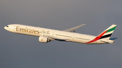 A6-EBP - Boeing 777-31HER - Emirates