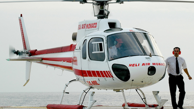 3A-MIL - Aérospatiale AS 350BA Ecureuil - Heli Air Monaco