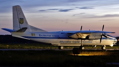 81 - Antonov An-30 - Ukraine - Air Force
