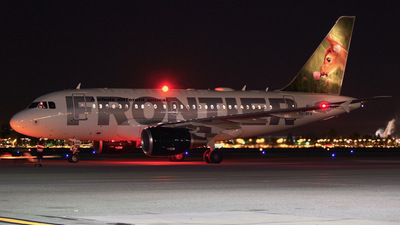 N808FR - Airbus A318-111 - Frontier Airlines