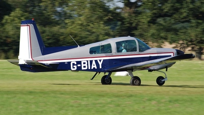 A picture of GBIAY - Grumman American AA5 - [AA50423] - © Brian Whitelegg