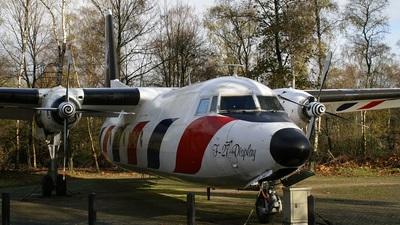 C-10 - Fokker F27-300M Troopship - Netherlands - Royal Air Force
