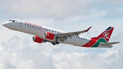 5Y-KYP - Embraer 190-100IGW - Kenya Airways